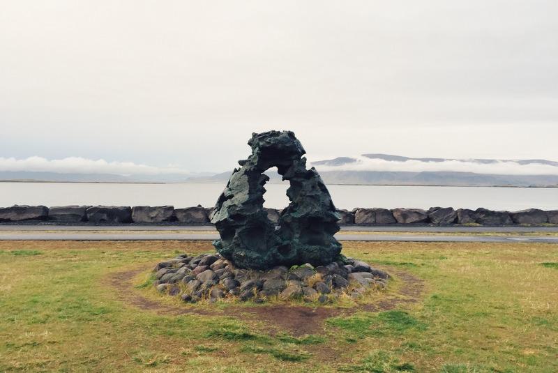 Uferpromenade Reykjavik Saebraut