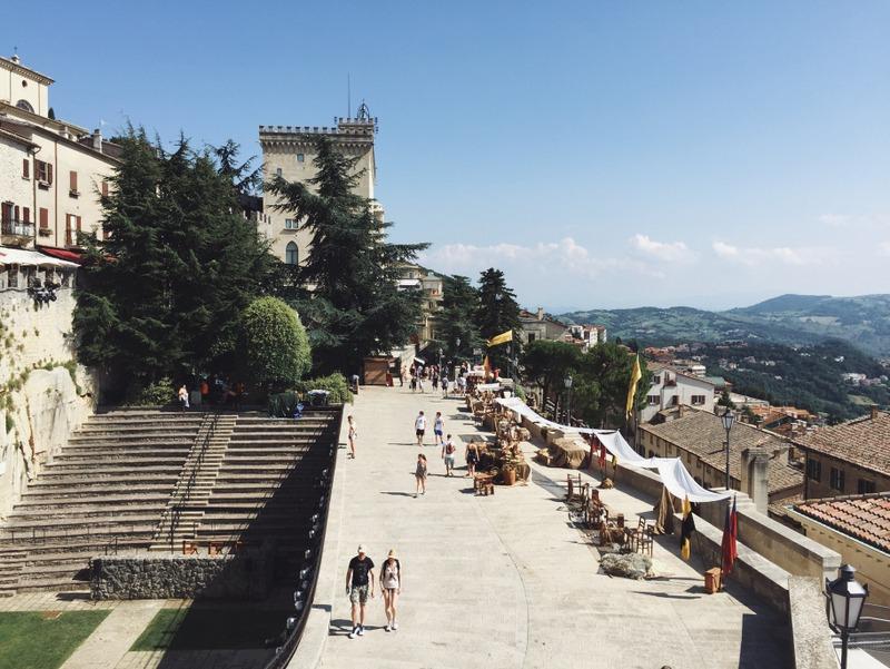 Altstadt San Marino Tipps Sehenswuerdigkeiten