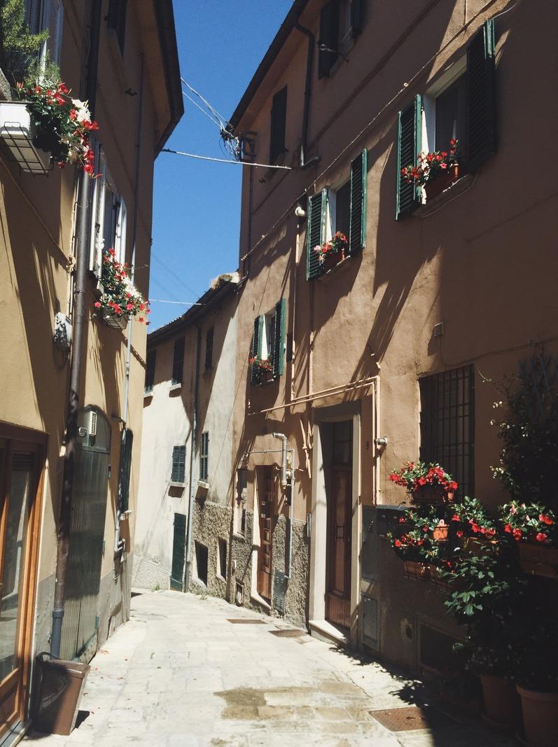 Gassen Borgo Maggiore San Marino