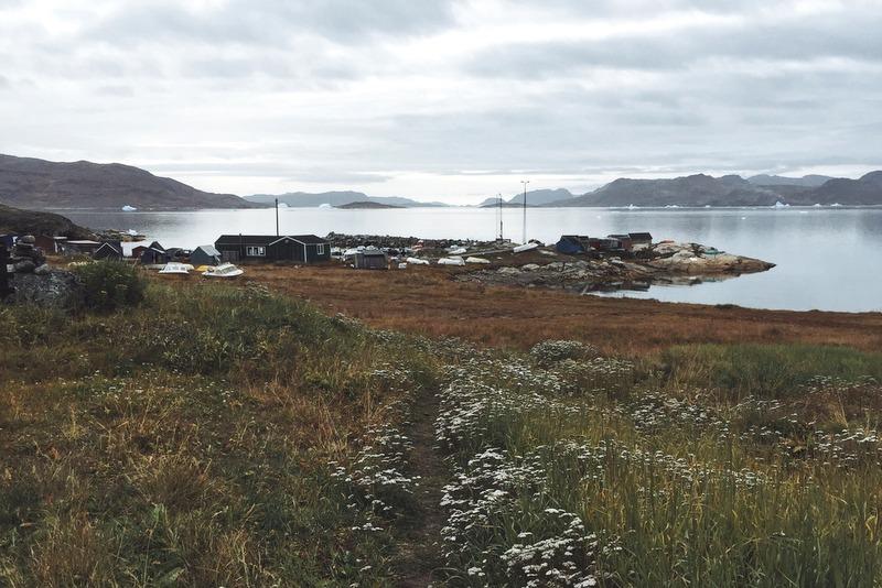 Hafen Narsaq Groenland