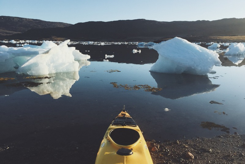 Kajaken Groenland Eisberge Tipp
