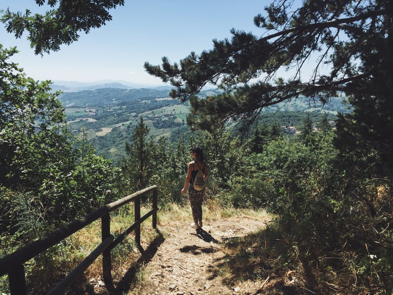 Wandern San Marino Monte Titano