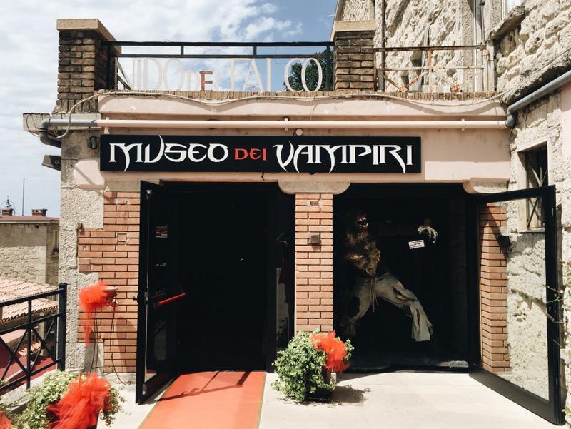 Museo dei Vampiri e Licantropi San Marino