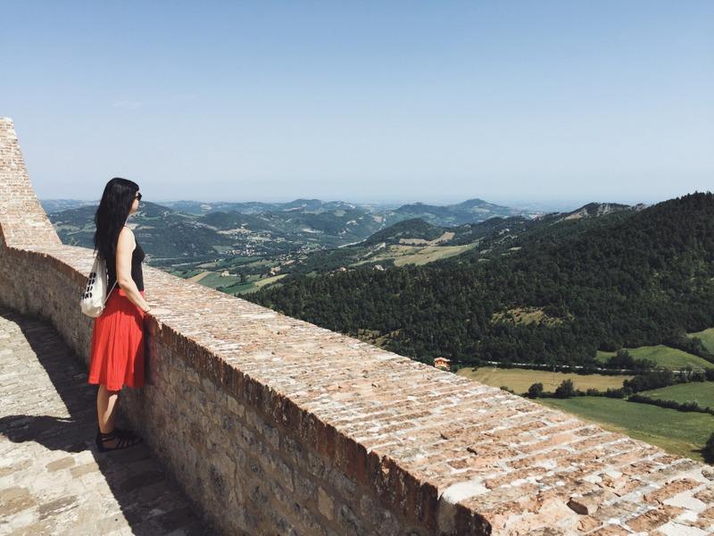 San Leo Italien Ausflugstipp