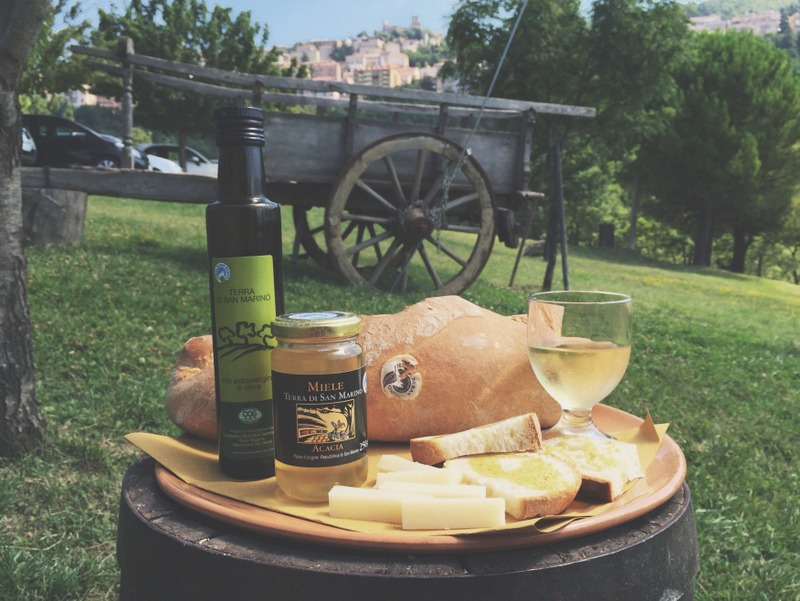 Spezialitaeten Essen San Marino