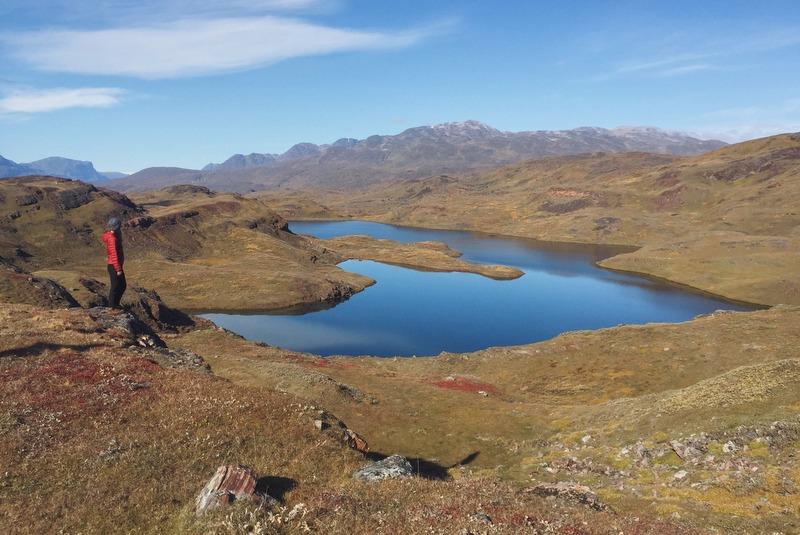 Wandern im Süden Grönlands