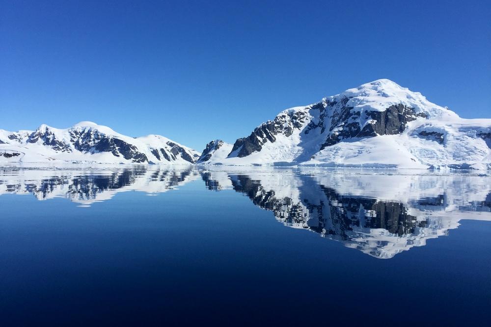 antarktis-spiegelung