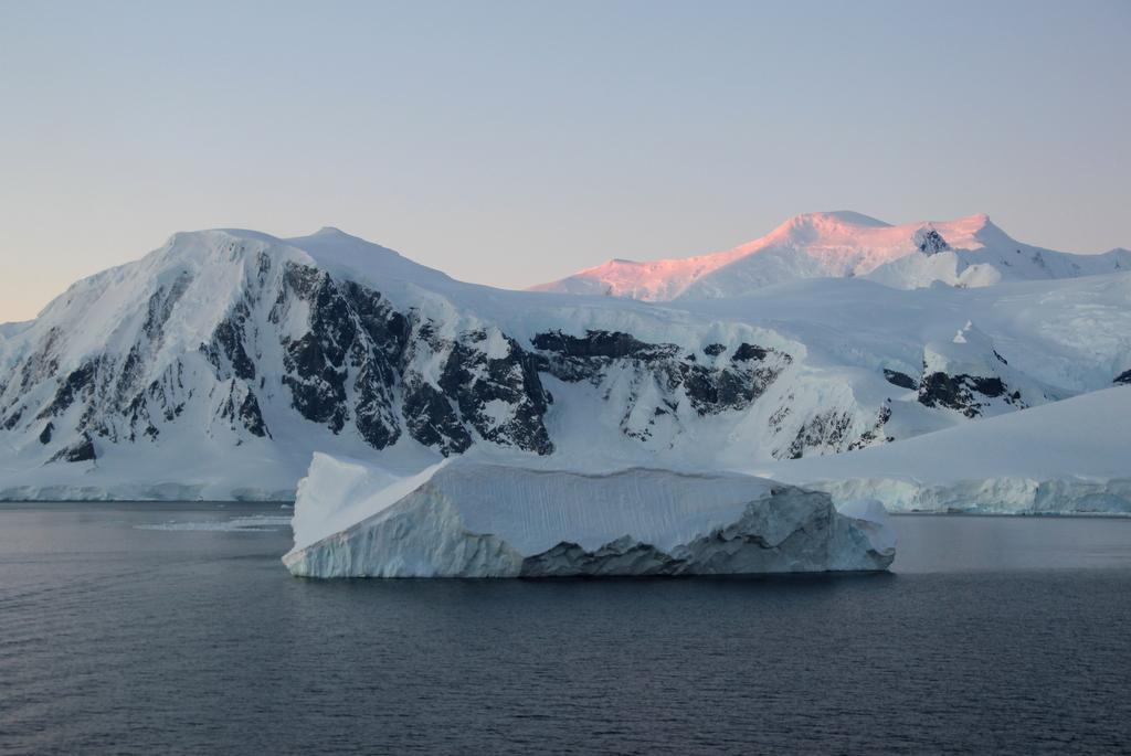Abendlicht Antarktis Mitternachtssonne Sonnenuntergang