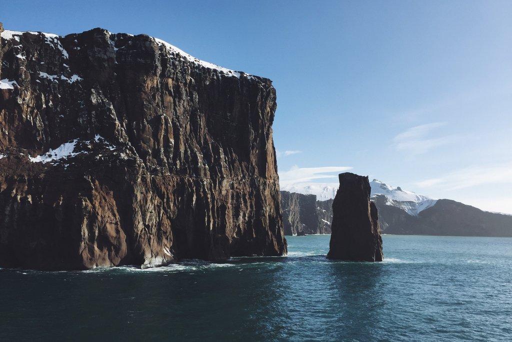 Deception Island Antarktis Neptuns Blasebalg