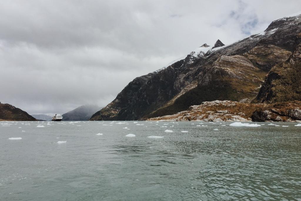 Garibaldi Fjord Chile MS Midnatsol
