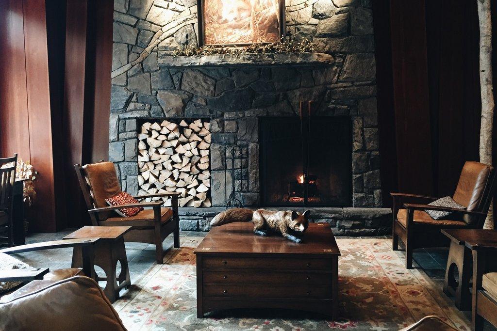 Hotel Lobby Banff Kanada