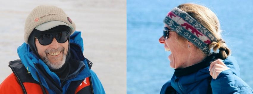 Hurtigruten Expeditionsteam Antarktis Rudolf Tessa