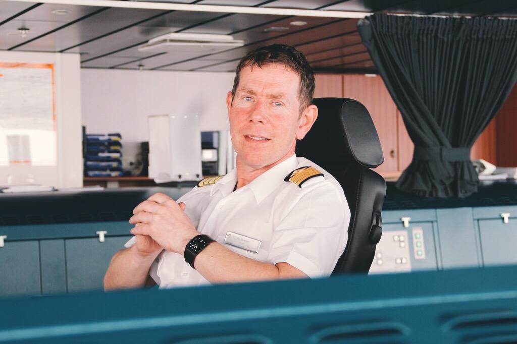 Kapitän Kai Albrigtsen MS Midnatsol Hurtigruten