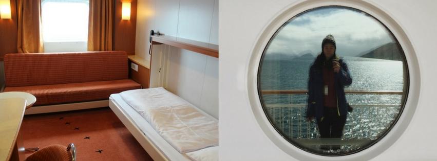 Kabine Kreuzfahrtschiff MS Midnatsol Hurtigruten