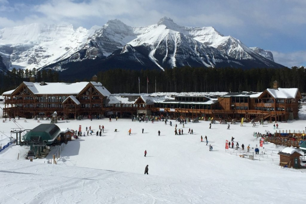 Lake Louise Lodge Skifahren Kanada