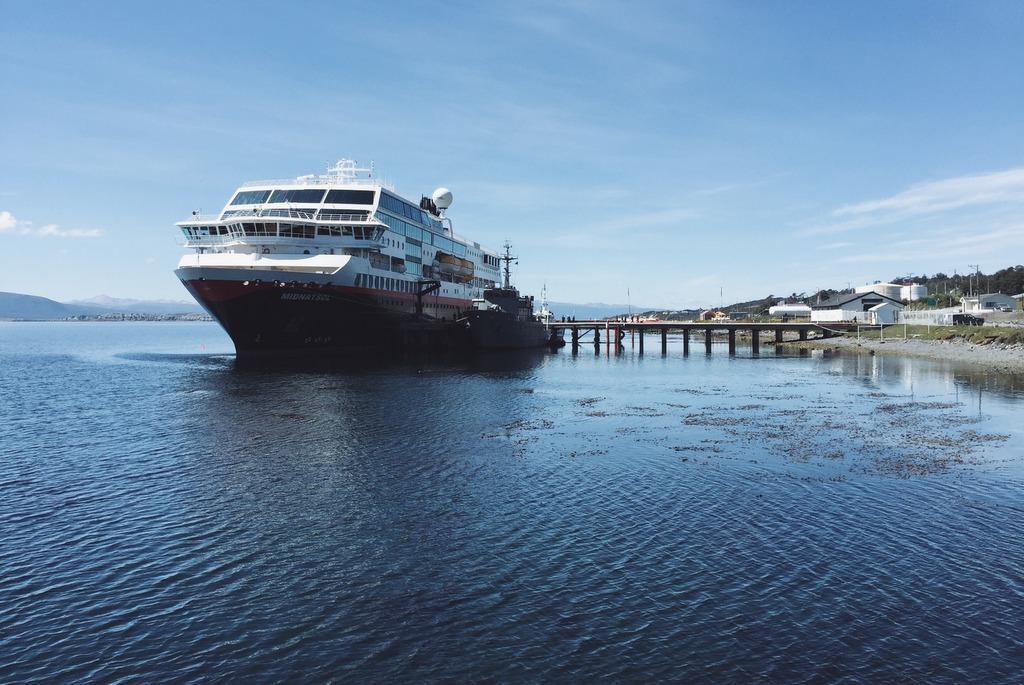 MS Midnatsol Puerto Williams Kreuzfahrt Chile
