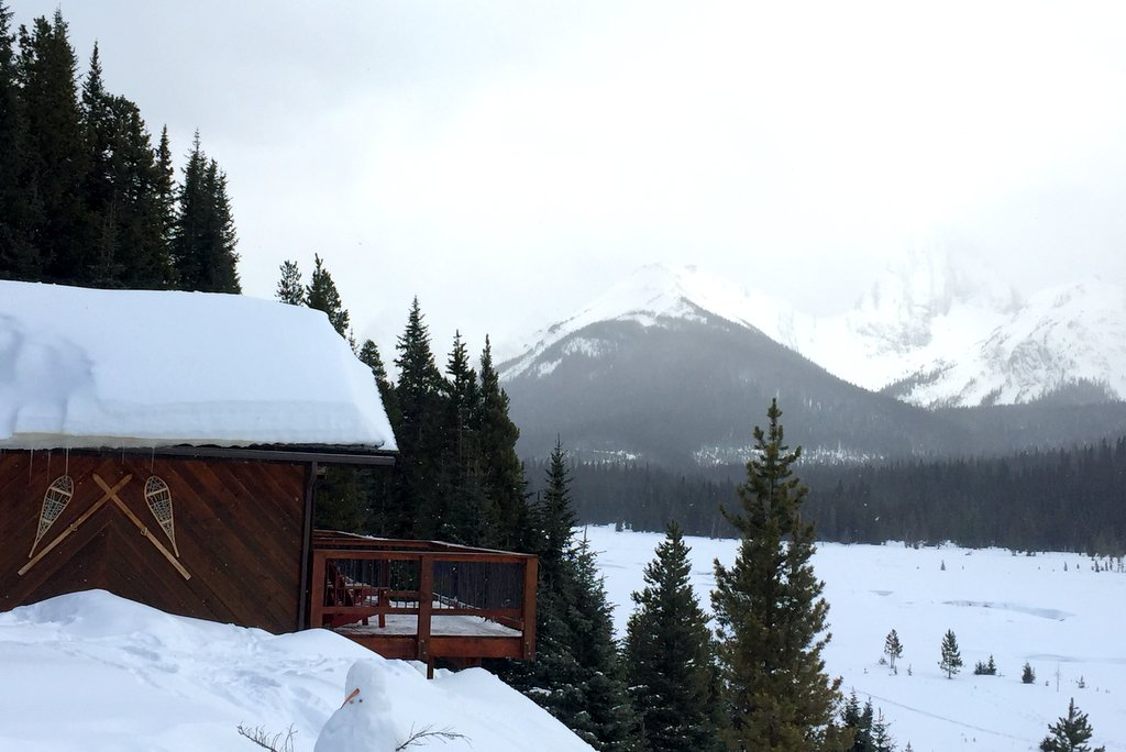 Mount Engadine Lodge Canmore Kanada Rocky Mountains