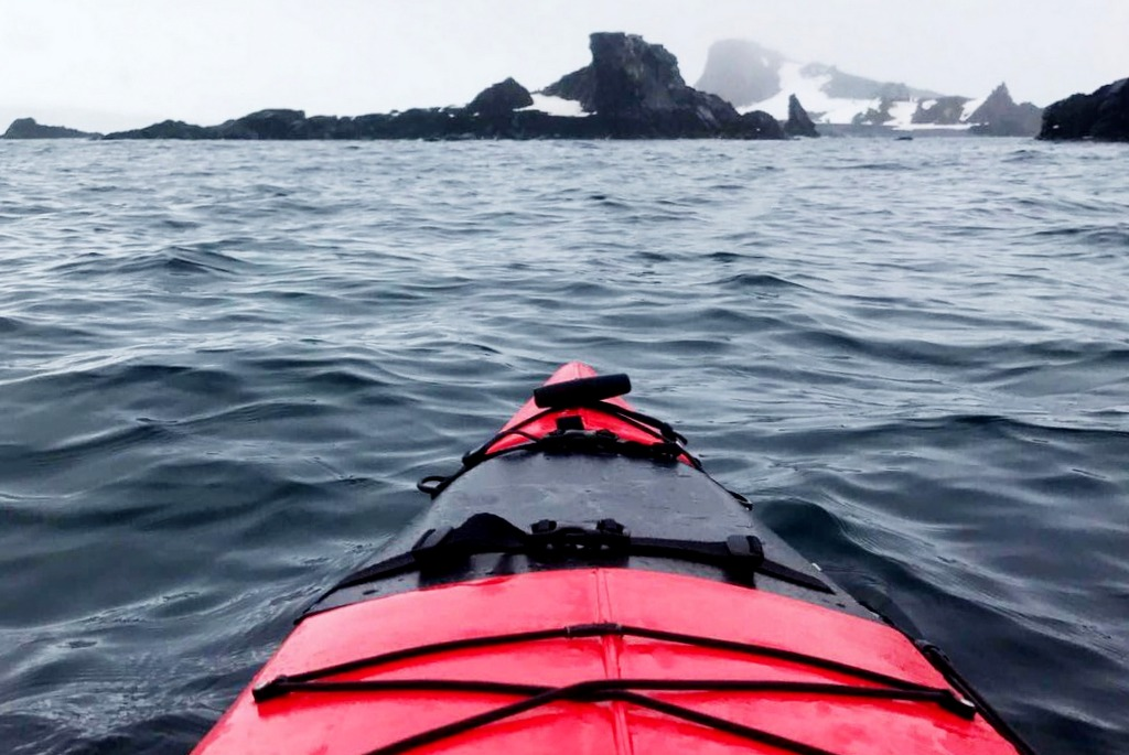 Sea Kayaking Antarktis