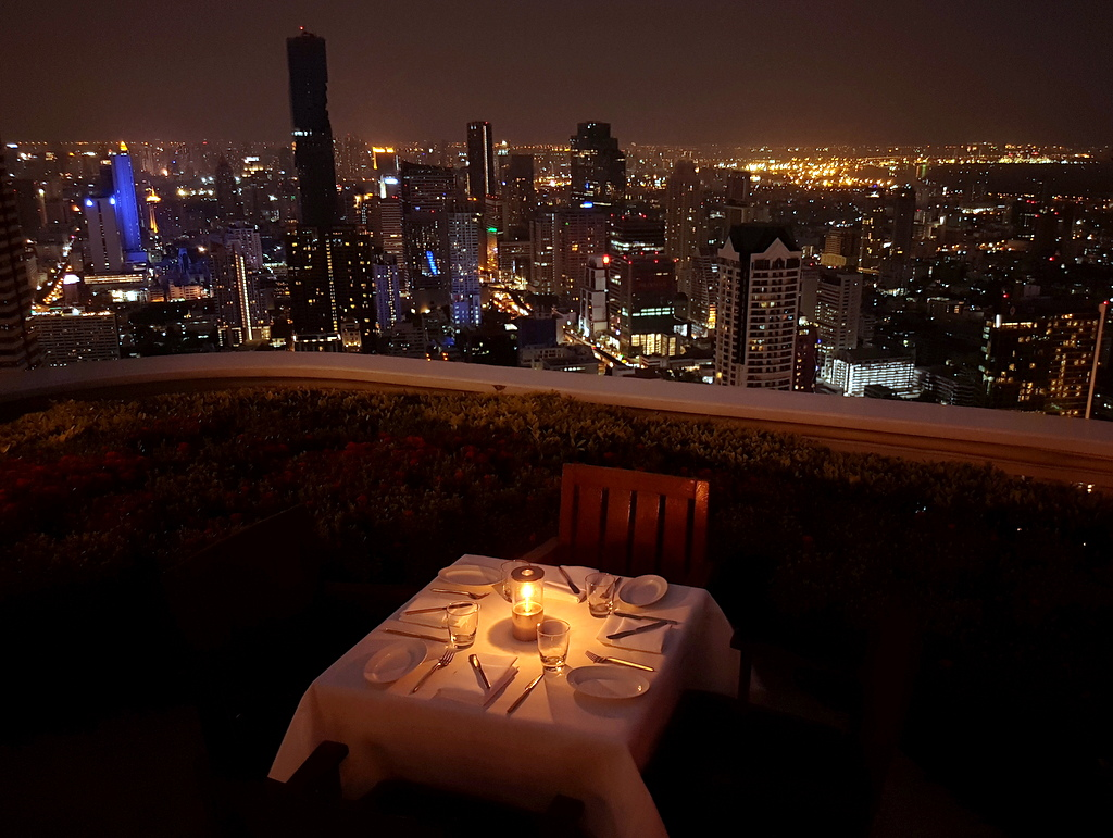 Bangkok Skyline Restaurant Lebua State Tower