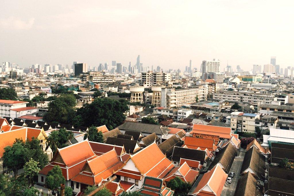 Bangkok Tipp Skyline Golden Mount