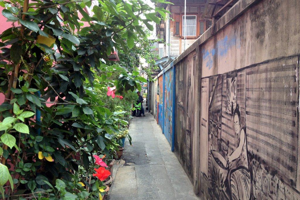 Gassen Thonburi Bangkok Geheimtipp