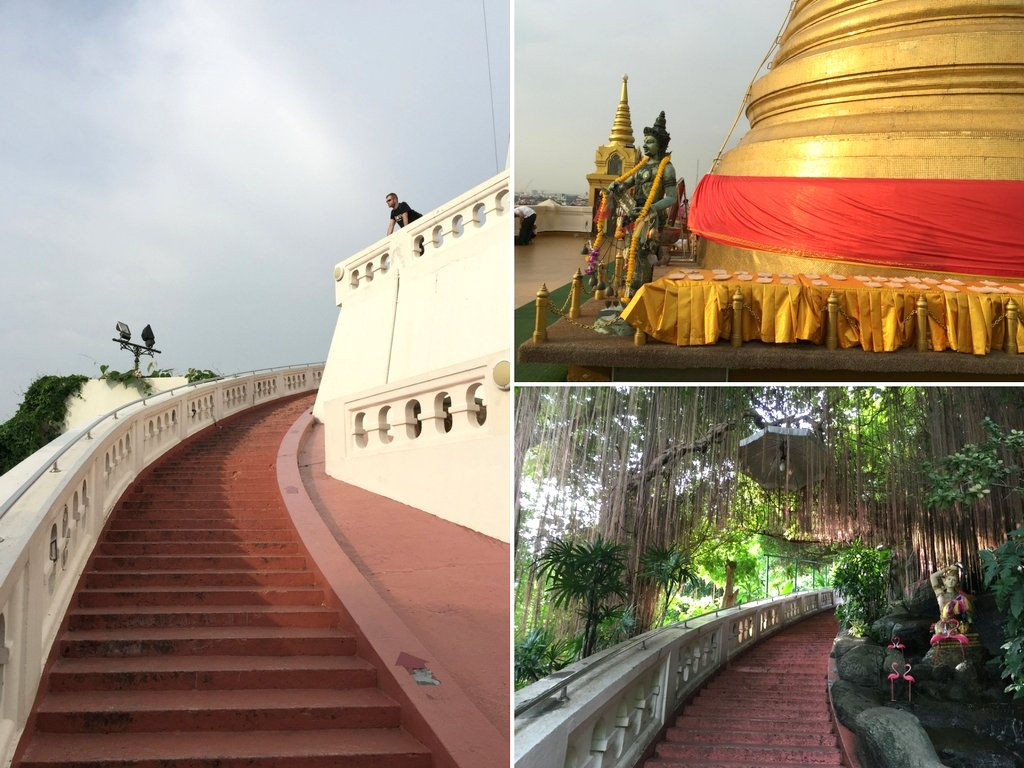 Golden Mount Wat Saket Bangkok Tipp