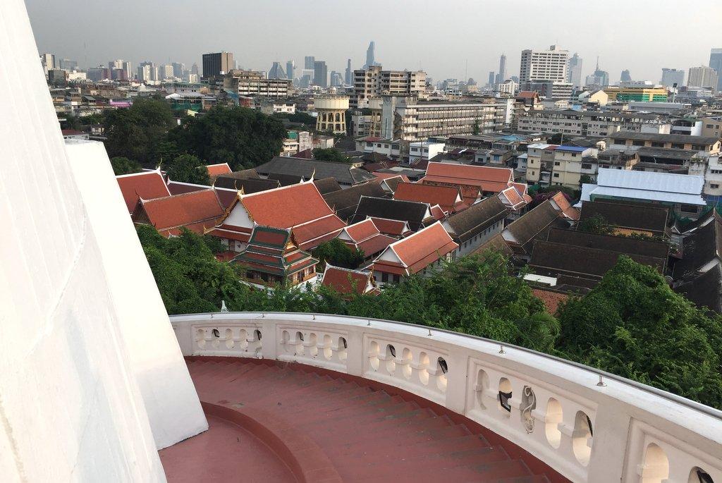 Golden Mount Wat Saket Bangkok
