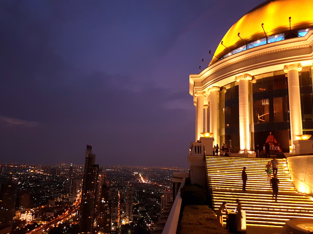 Lebua Sky Bar Bangkok The Hangover