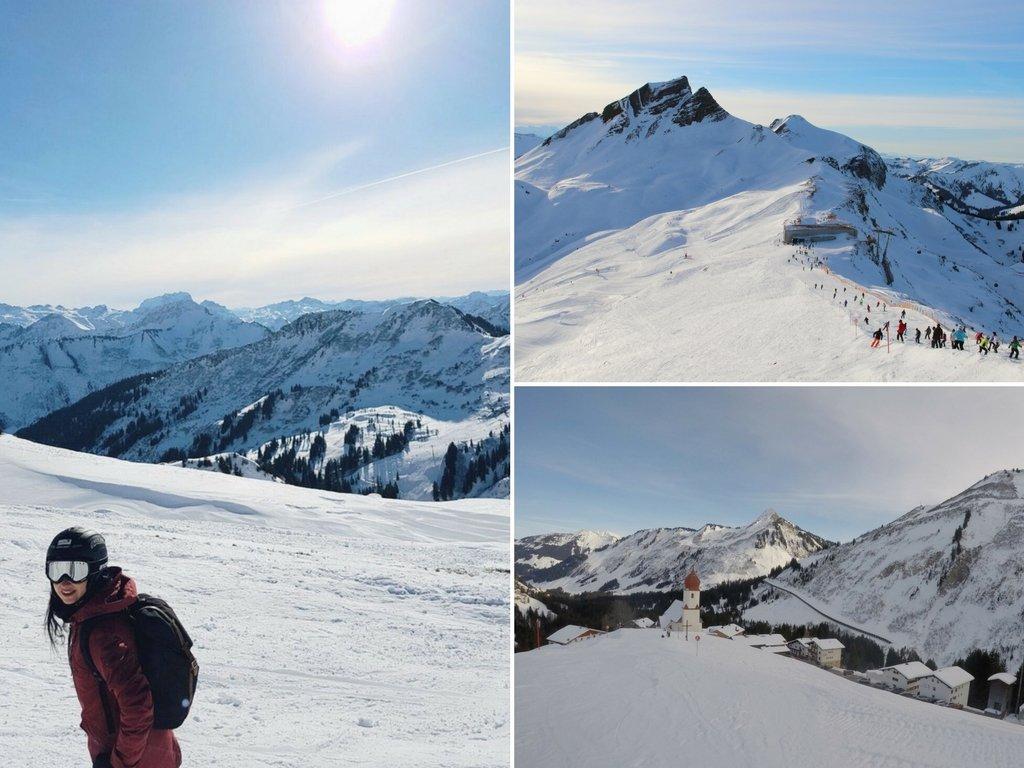 Skigebiet Damuels-Mellau