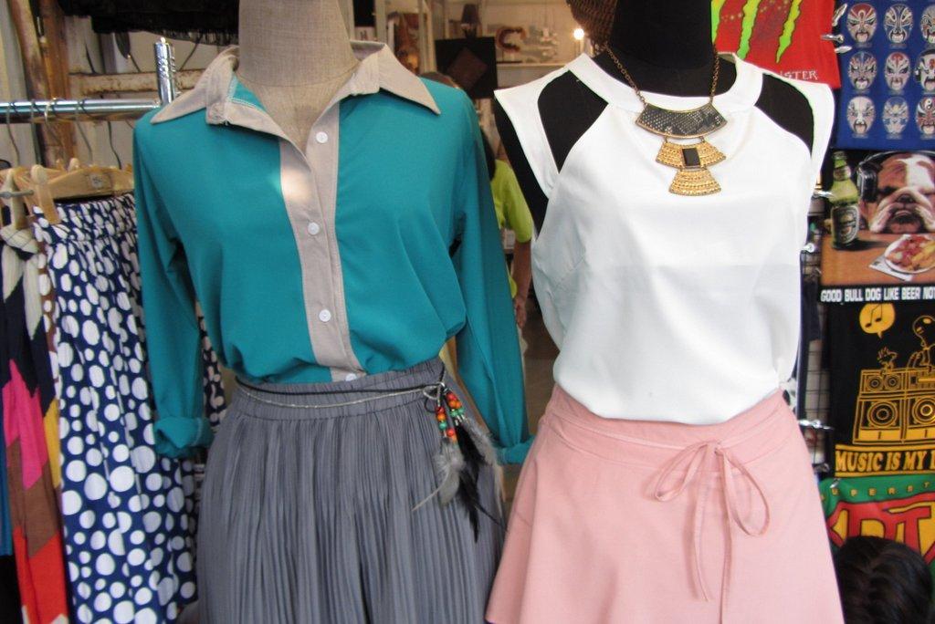 Vintage Kleidung Chatuchak Market