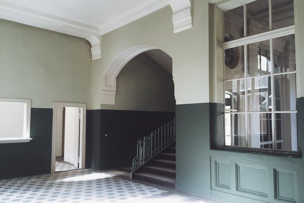 Beelitz Heilstaetten verlassenes Badehaus Innen