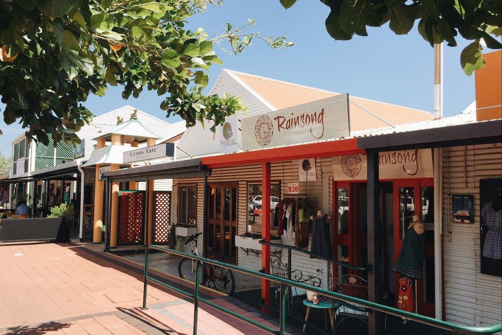 Broome Innenstadt Westaustralien
