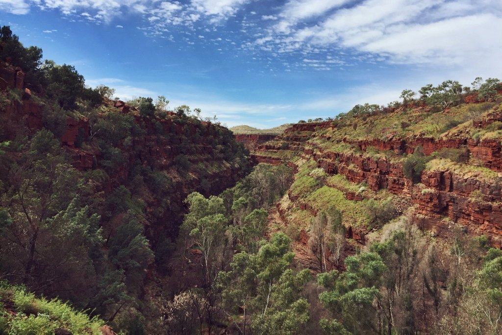 Dales Gorge Karijini Nationalpark Westaustralien