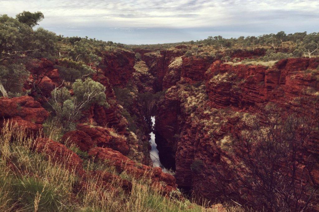 Karijini Nationalpark Westaustralien Joffre Gorge