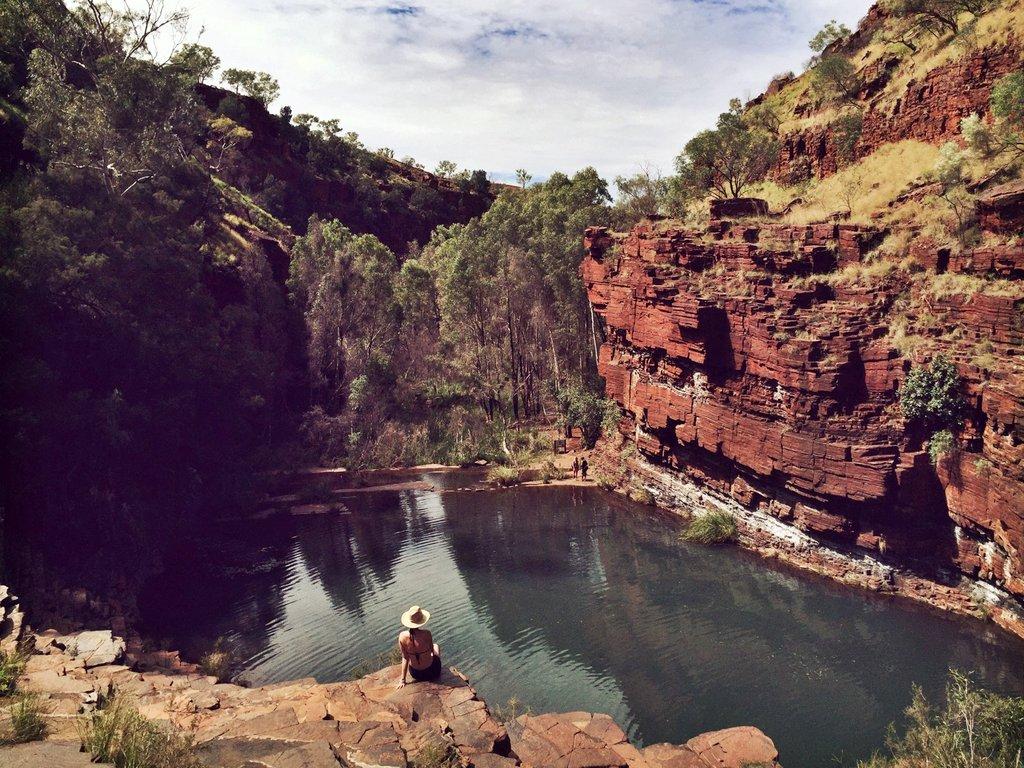 Karijini Westaustralien Fortescue Falls
