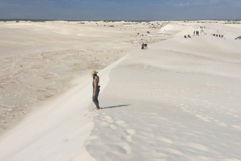 Lancelin Westaustralien Sandduenen Highlight