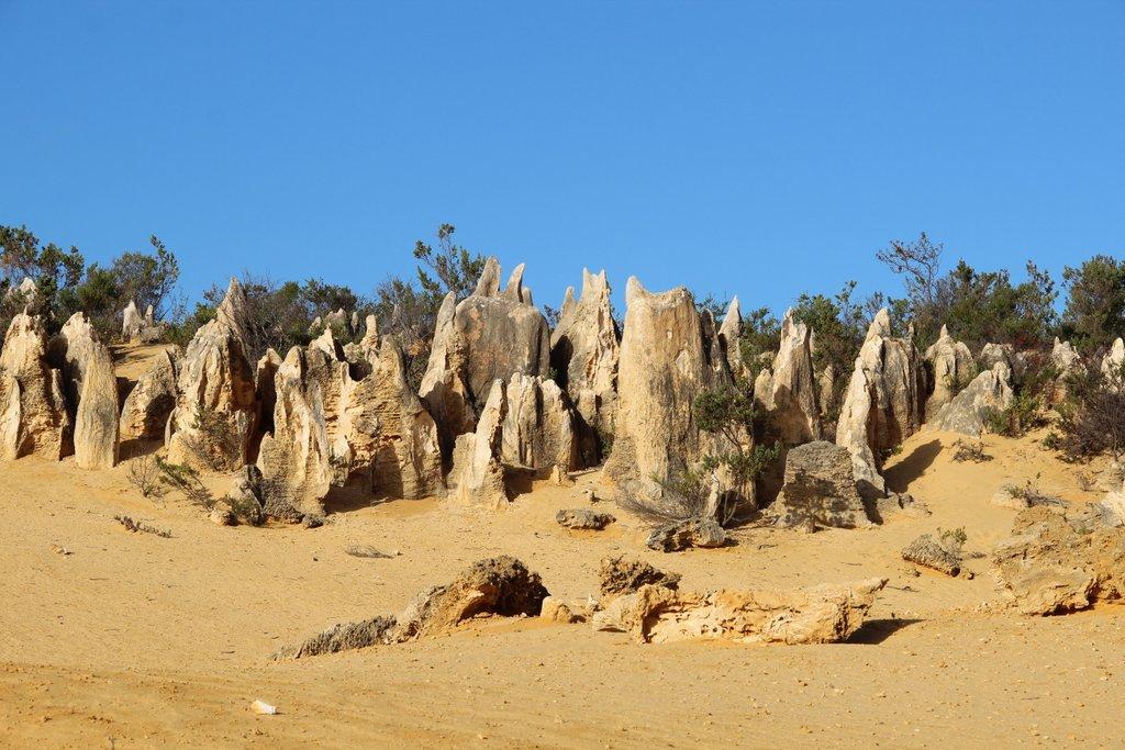 Pinnacles Desert Cervantes Westaustralien Highlights