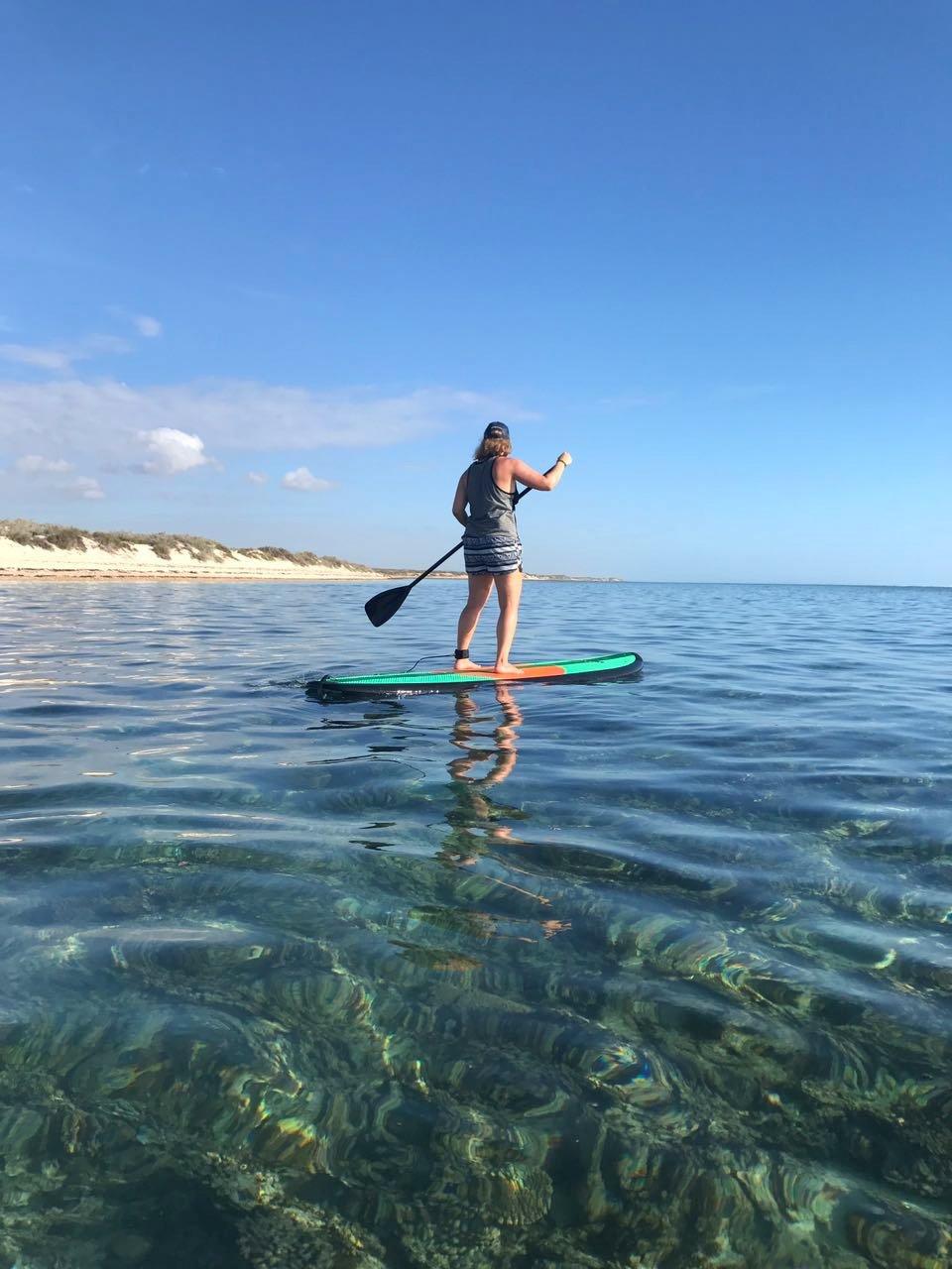 SUP Ningaloo Reef Exmouth Westaustralien
