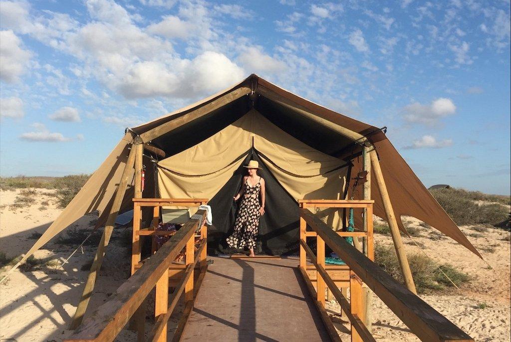 Sal Salis Ningaloo Reef Exmouth Camping