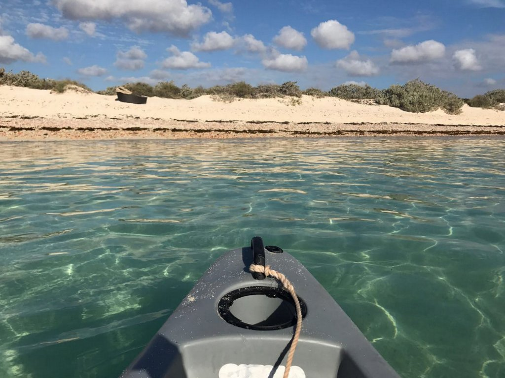 Sea Kajak Ningaloo Reef Australien Exmouth