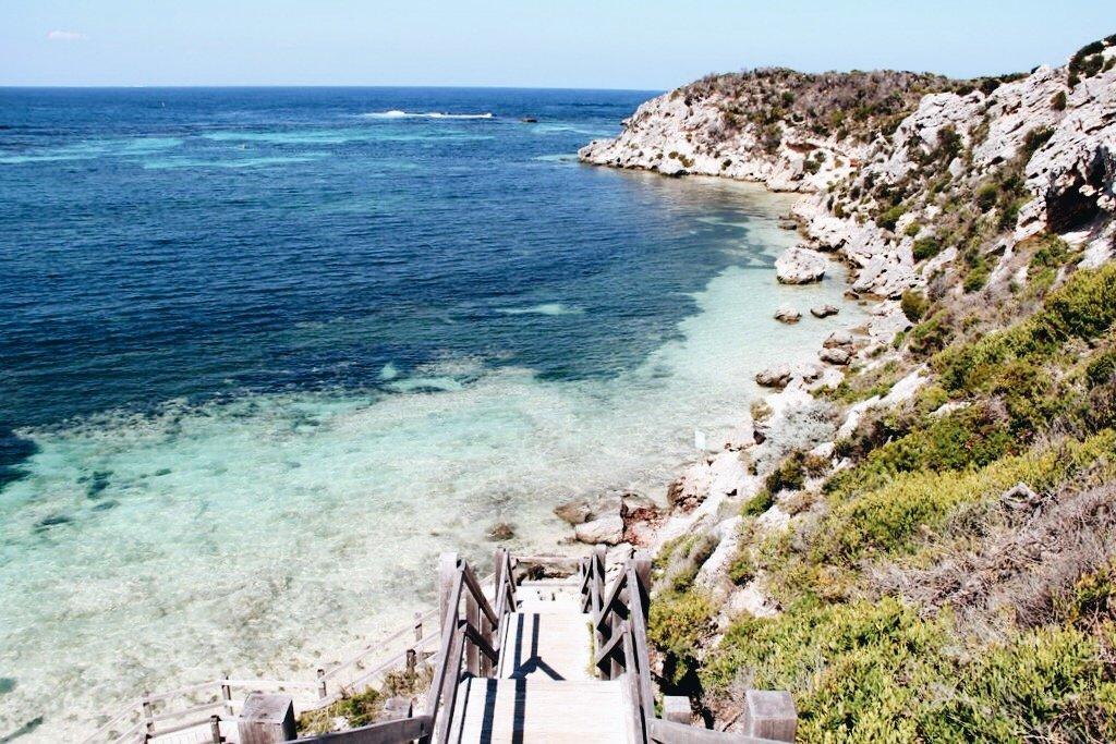 Bucht Rottnest Island Westaustralien