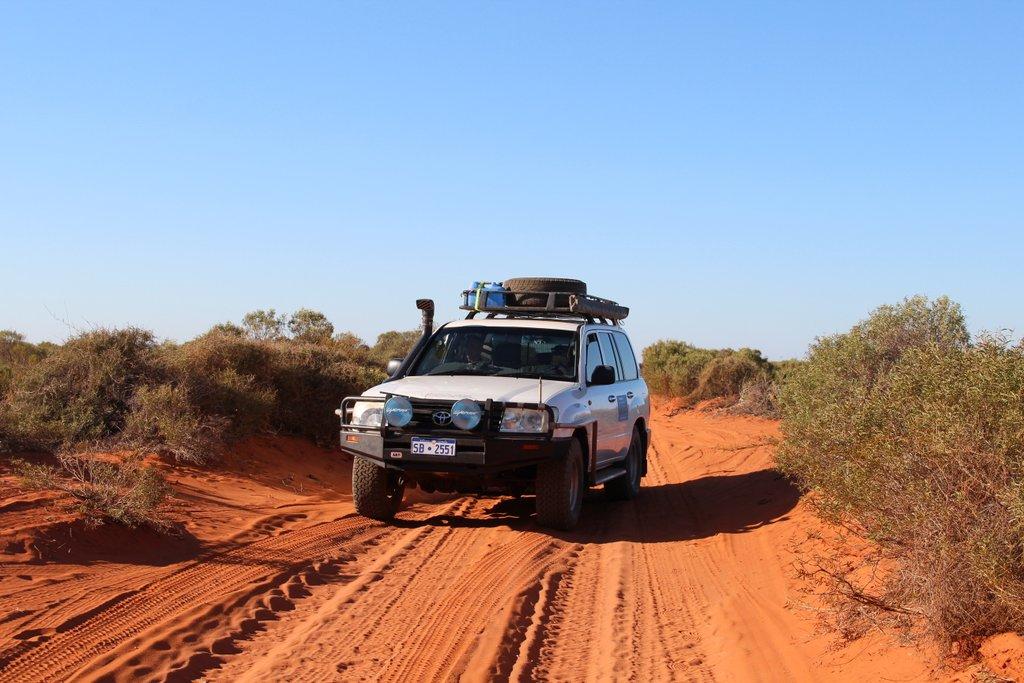Land Cruiser Autofahren Westaustralien