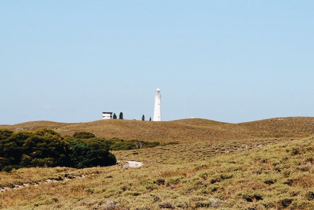 Leuchtturm Rottnest island Westaustralien
