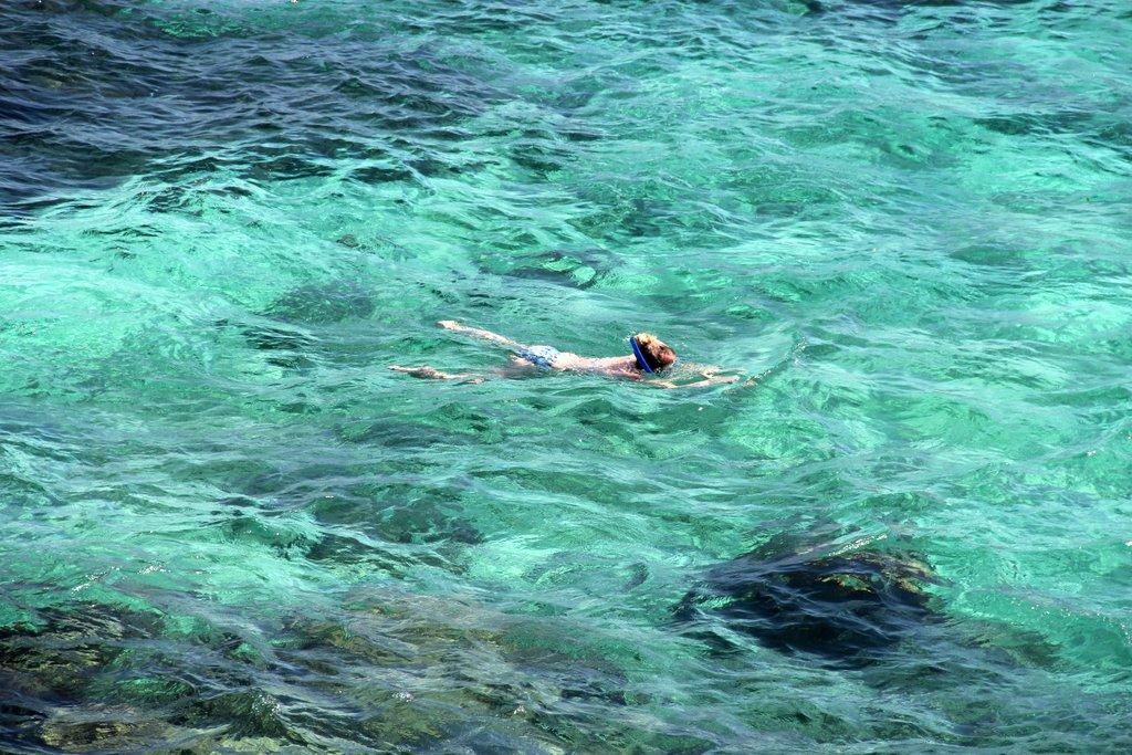 Schnorcheln baden Rottnest Island Westaustralien