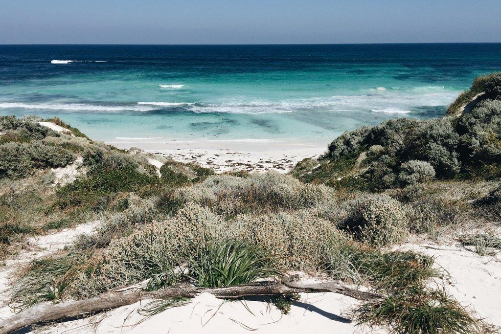 Strand Rottnest Island Perth Westaustralien