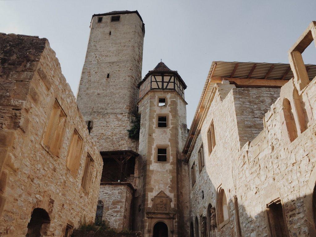Burg Hornberg Neckarzimmern besichtigen