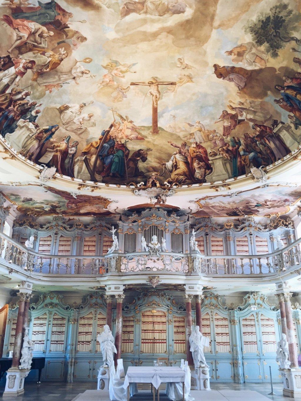 Kloster Schussenried alte Bibliothek