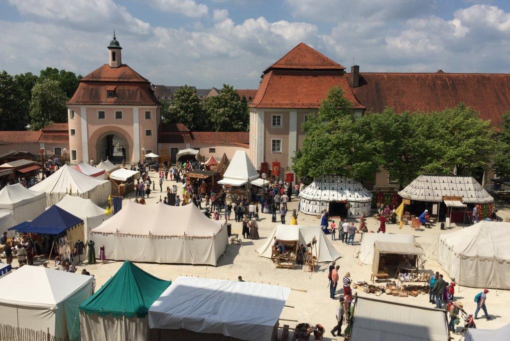 Kloster Wiblingen Mittelaltermarkt