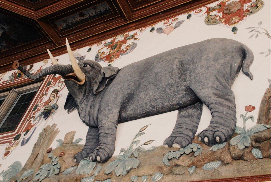 Schloss Weikersheim Elefant