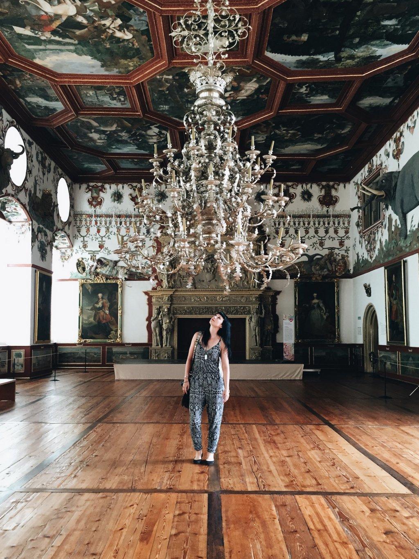 Schloss Weikersheim Rittersaal Fuehrung